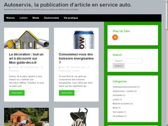 Blogs de publication d'articles